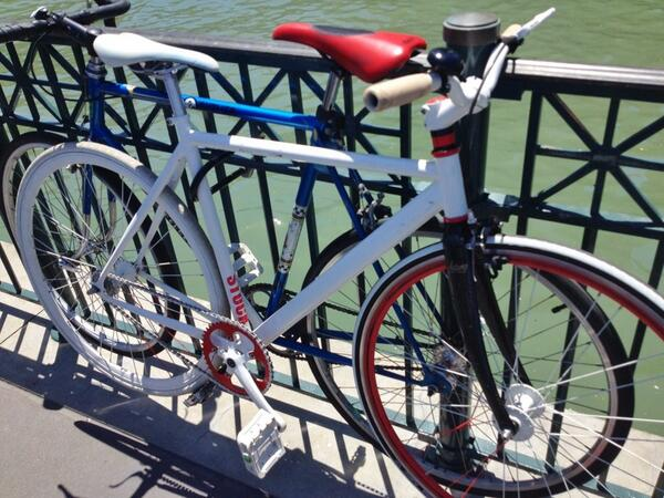 My bike at the Ferry Building.