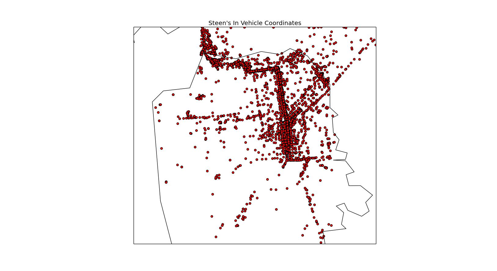 More Google Location Data | Certainly Strange